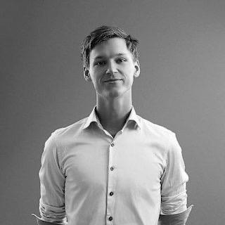 Porträttfoto, Joel Holmberg